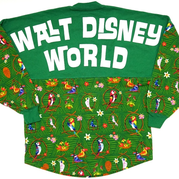Disney Parks Tiki Room Spirit Jersey Walt Disney World Size Large New With Tag